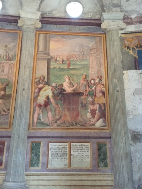 Martyrdom fresco