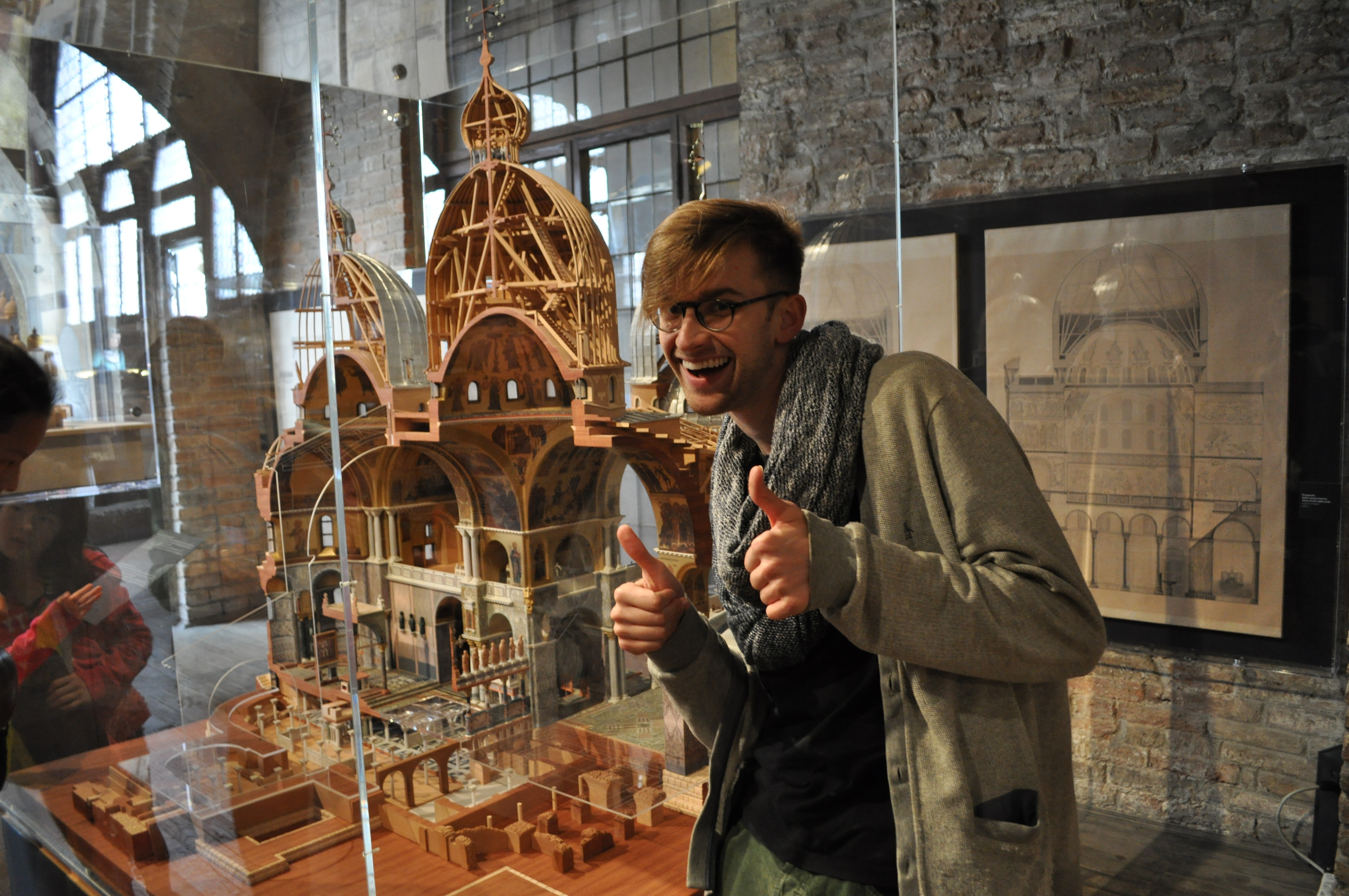 Andrew and the cutaway