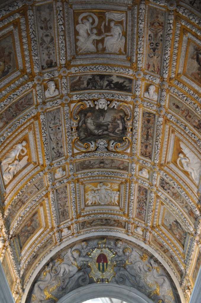 Ceiling in a stair hall of the Palazzo Ducale
