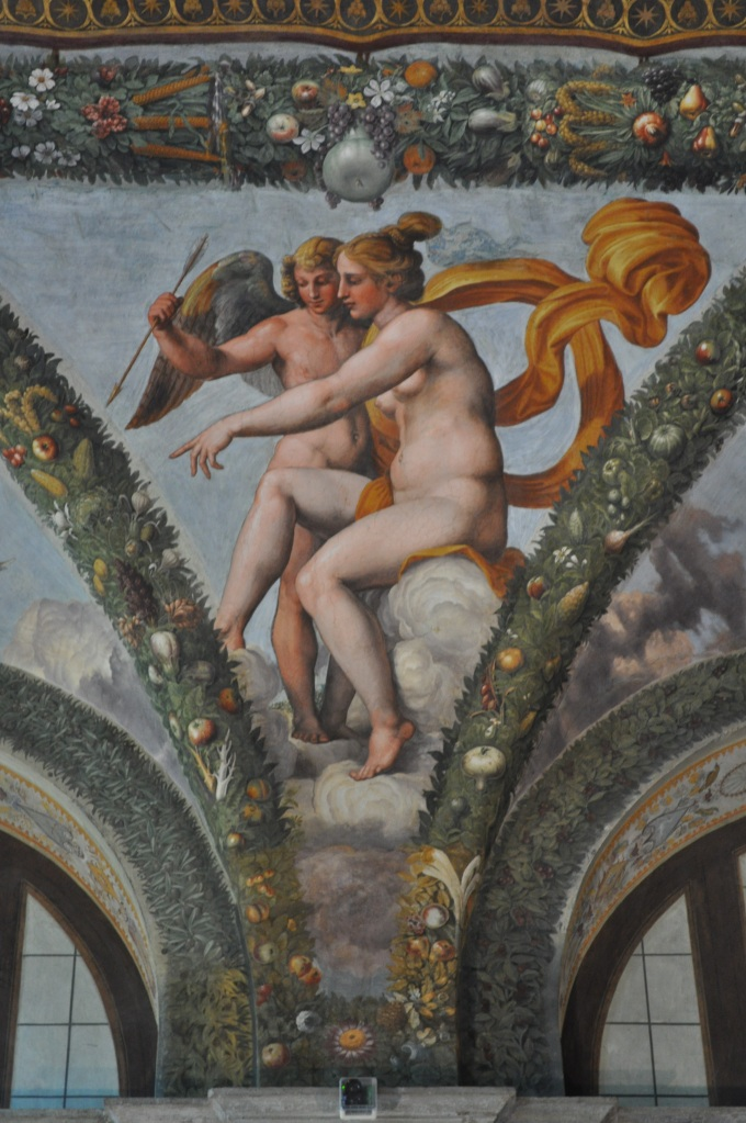Detail from the Loggia of Cupid and Psyche