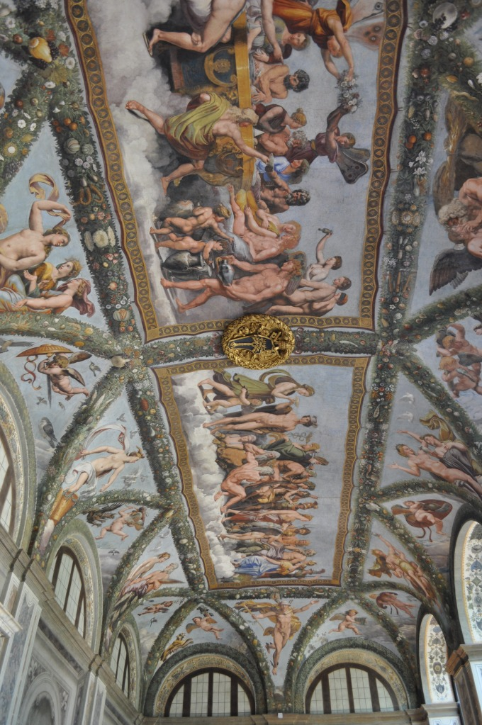 Ceiling of the Loggia of Cupid and Psyche