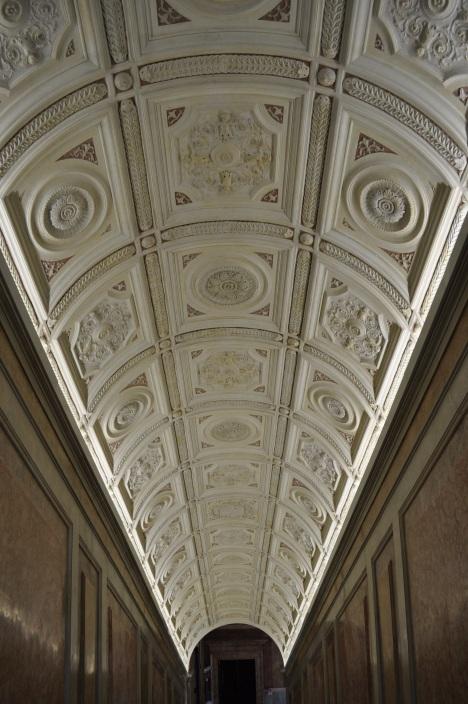 Stairway ceiling at Villa Farnesina