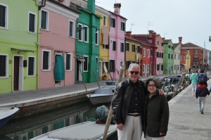 With CCB in Burano