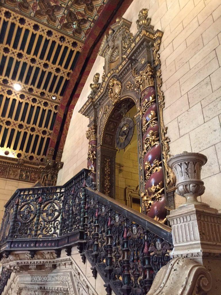 Stair detail at Biltmore