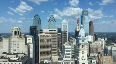 The Philly skyline