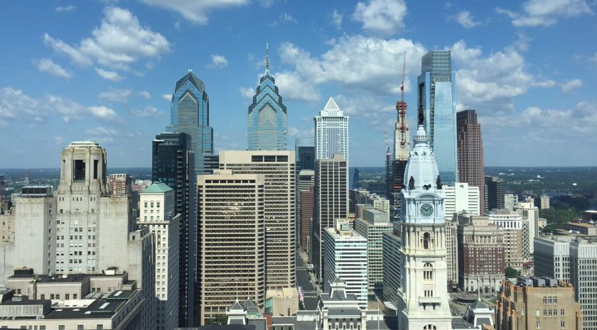 The Philly skyline