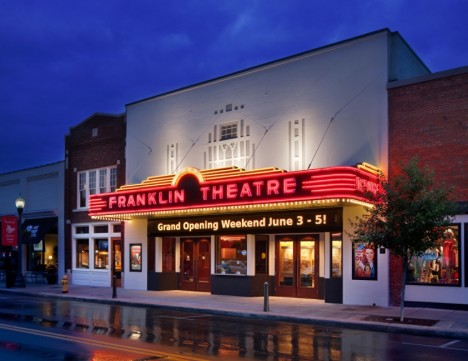 Restored Franklin Theatre