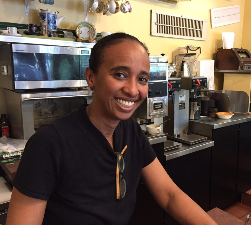 Abeba at Kefa Cafe