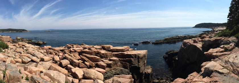 Thunder Hole Panoramic View
