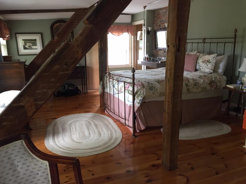 Room #9 at Pilgrim's Inn