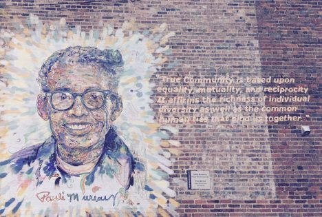 Pauli Murray Mural