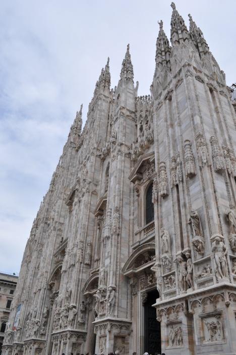 Duomo towers