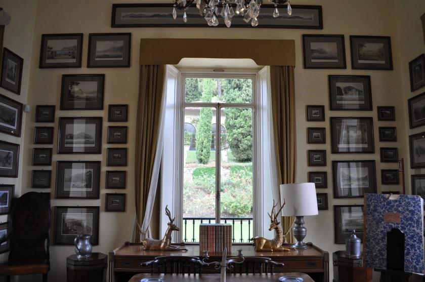 Villa del Balbianello writing room