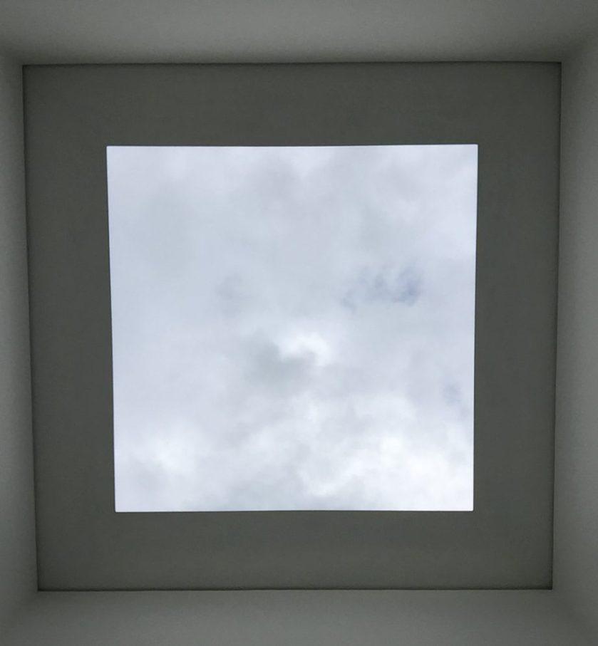 Skyscape at Villa Panza