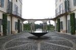 Villa Panza courtyard
