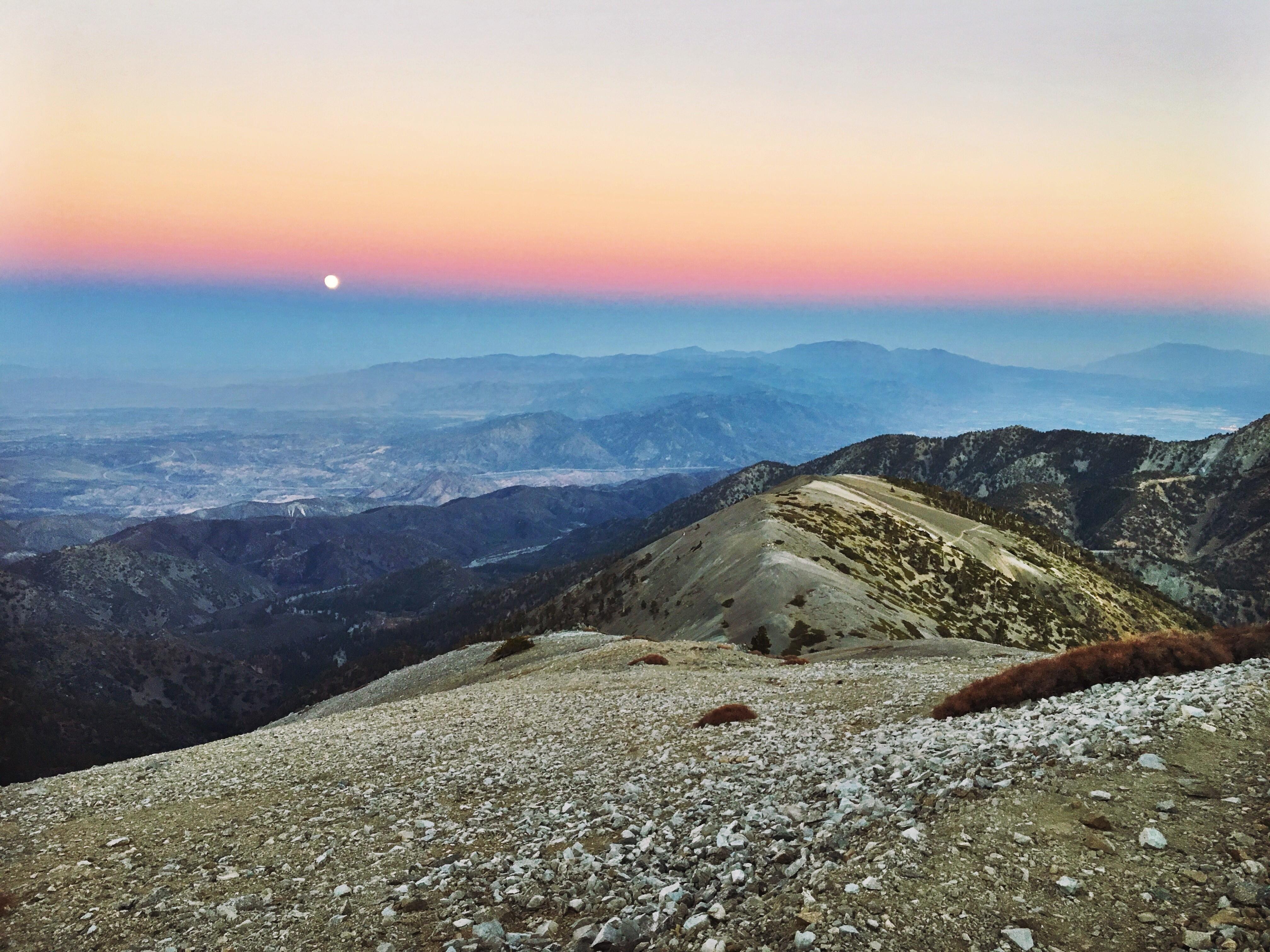 Mount Baldy Super Moon