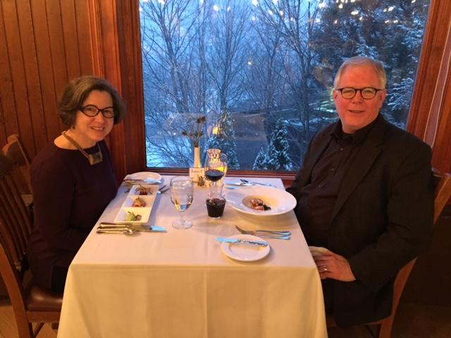 35th anniversary dinner