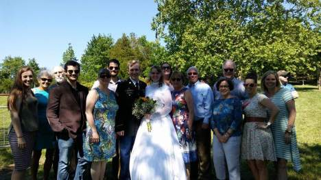 The family gathers to celebrate life and love