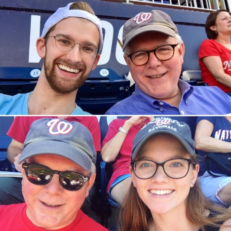 Family time at Nats Park