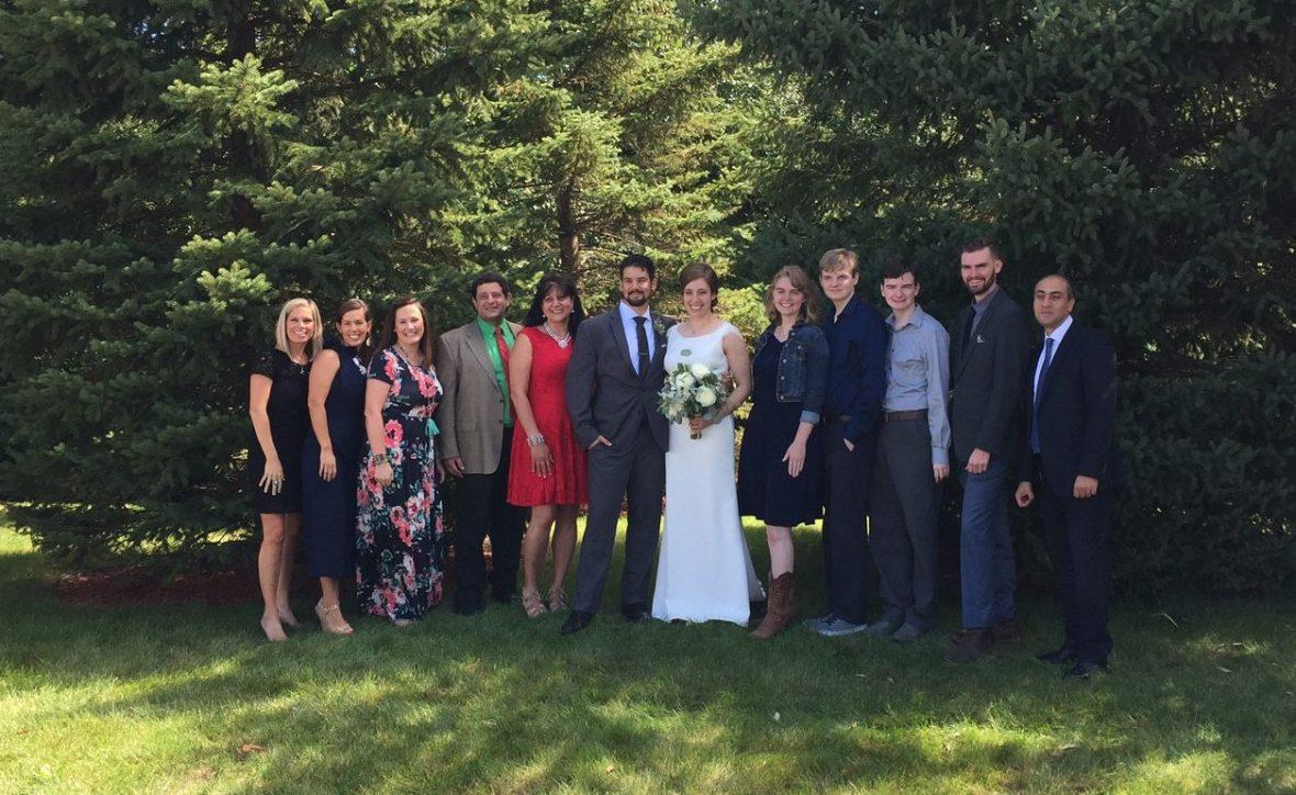 Ghattas wedding cousins