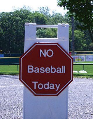 No Baseball Today | More to Come...