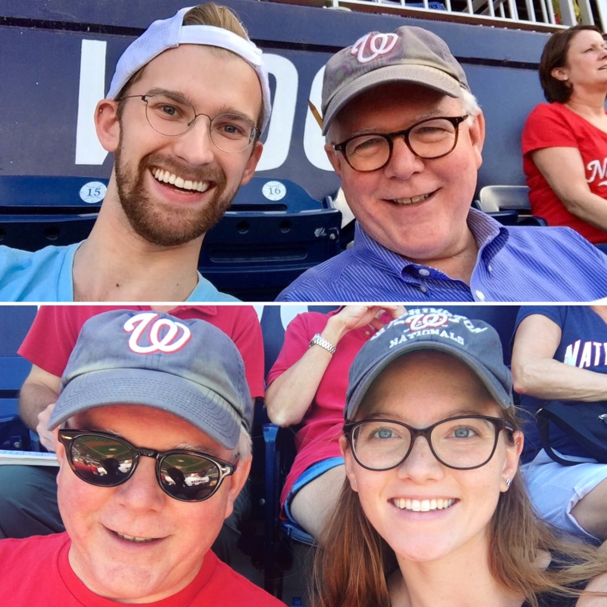 DJB with ABB and CHB at Nats Park