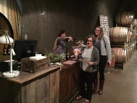 Wine tasting in Sonoma