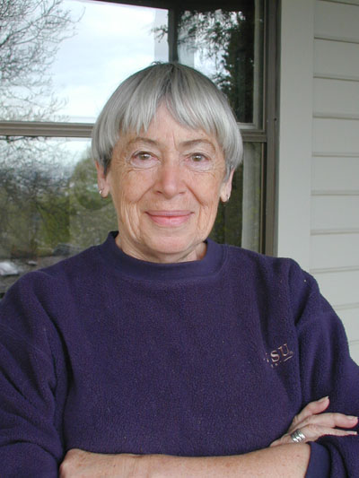 Ursula Le Guin photo by Eileen Gunn