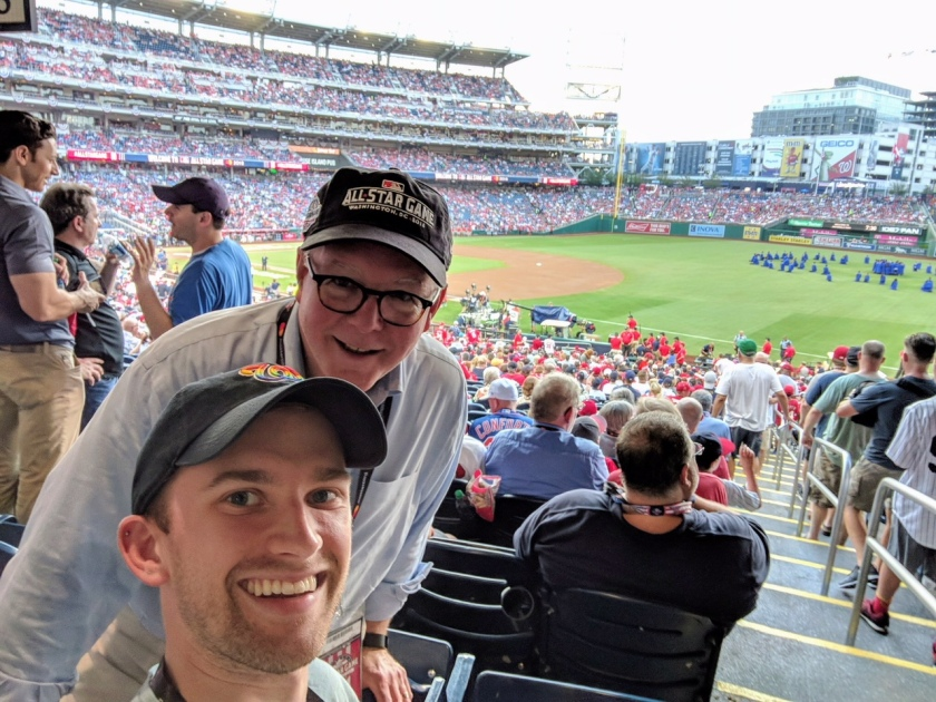 2018 All Star Game with Andrew