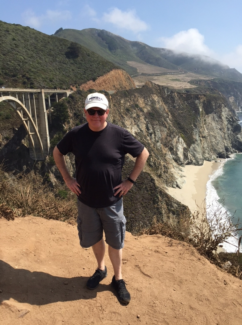 DJB at Bixby Bridge
