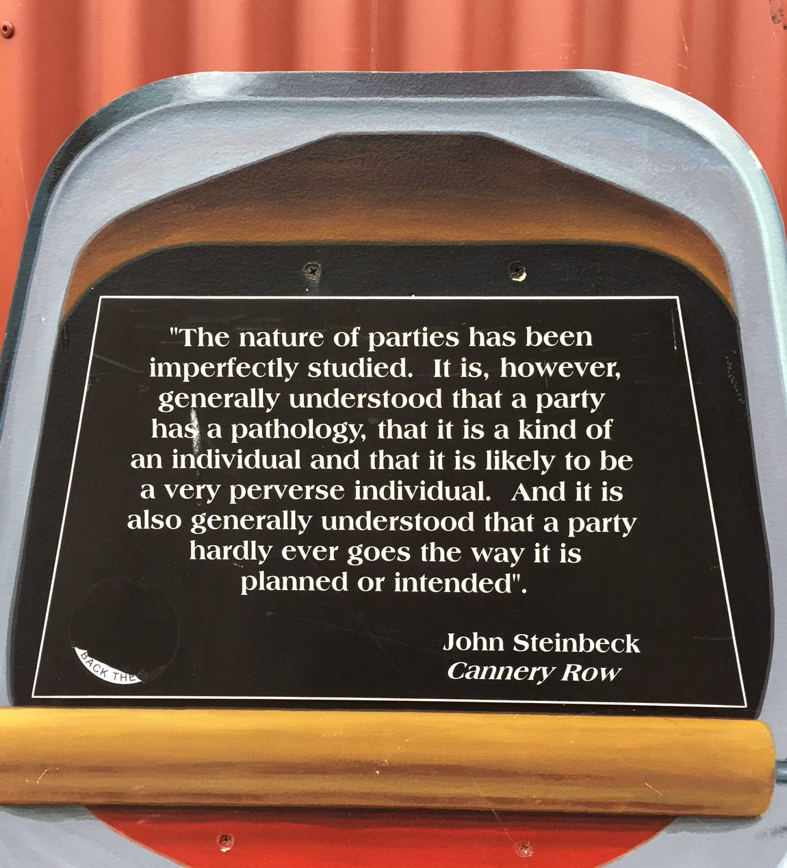 Nature of Parties