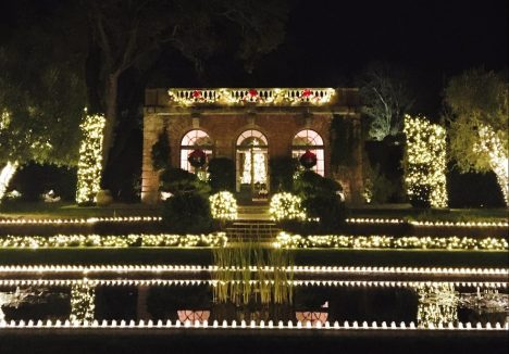 Holidays at Filoli