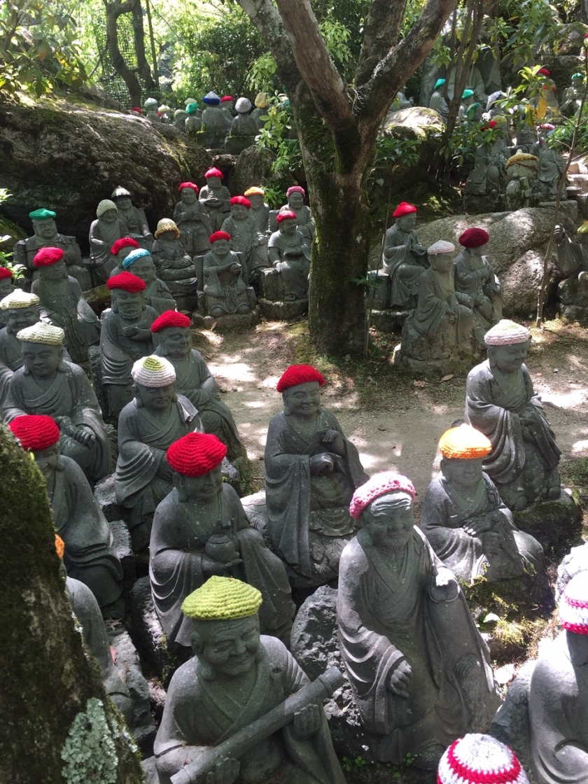 Buddhist statues at Daisho-in Temple