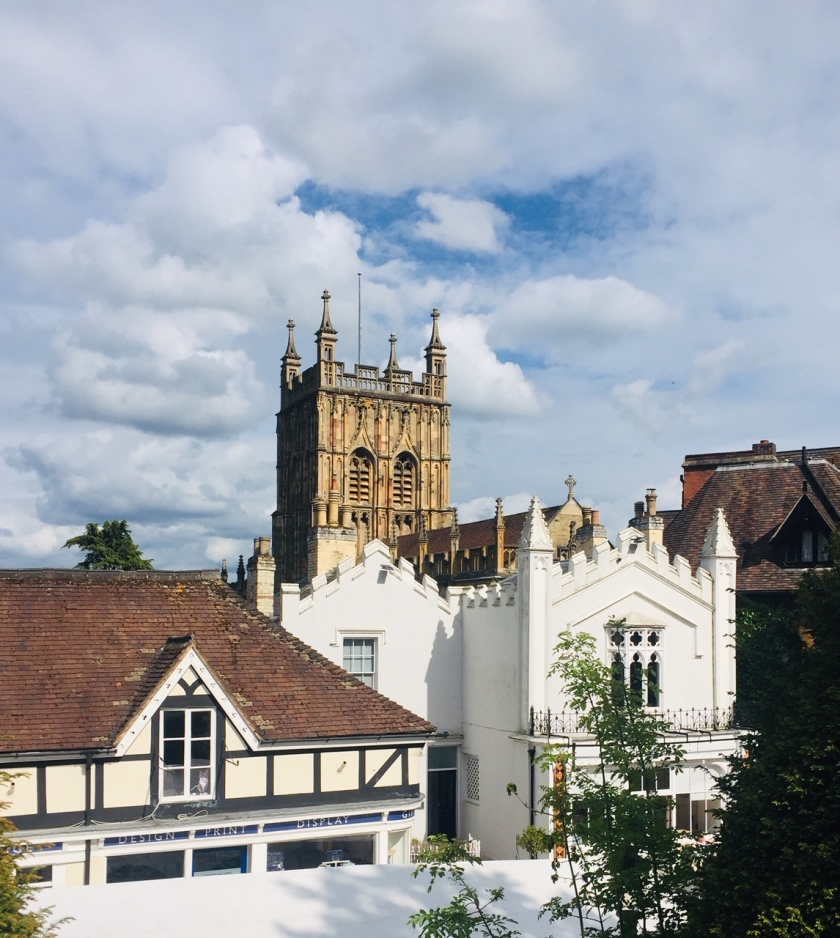 Rooftops of Great Malvern