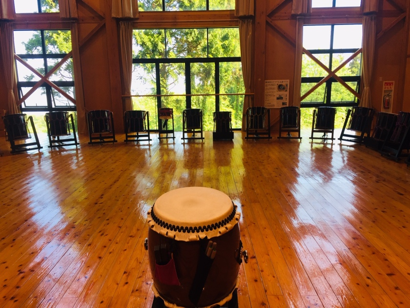 Kado Center main drumming room