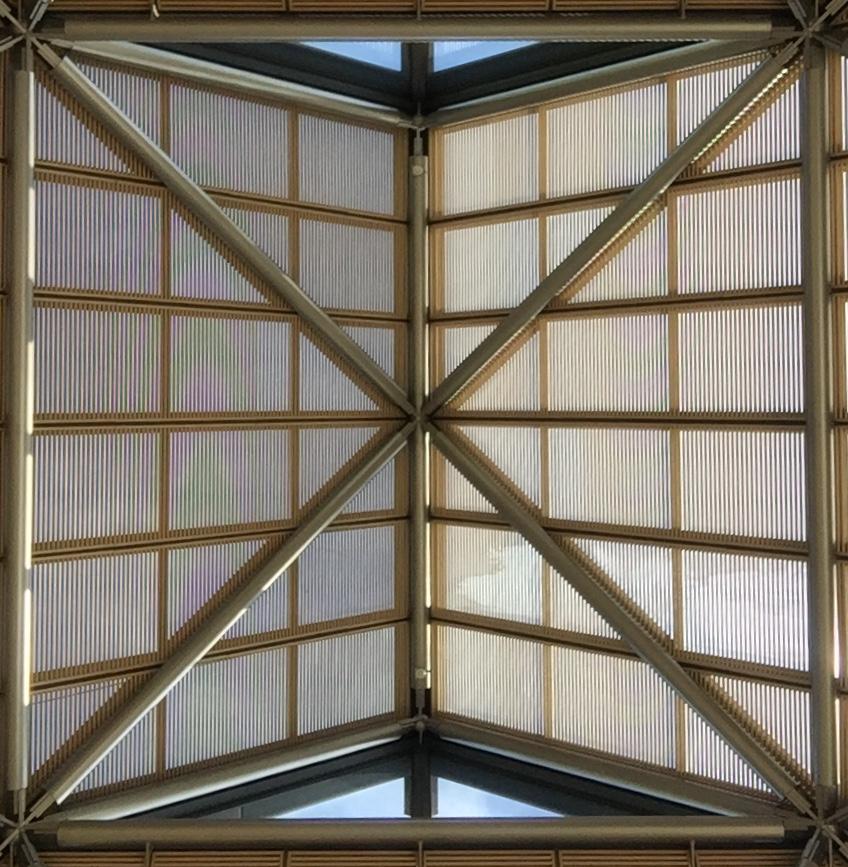 Ceiling of Miho Museum