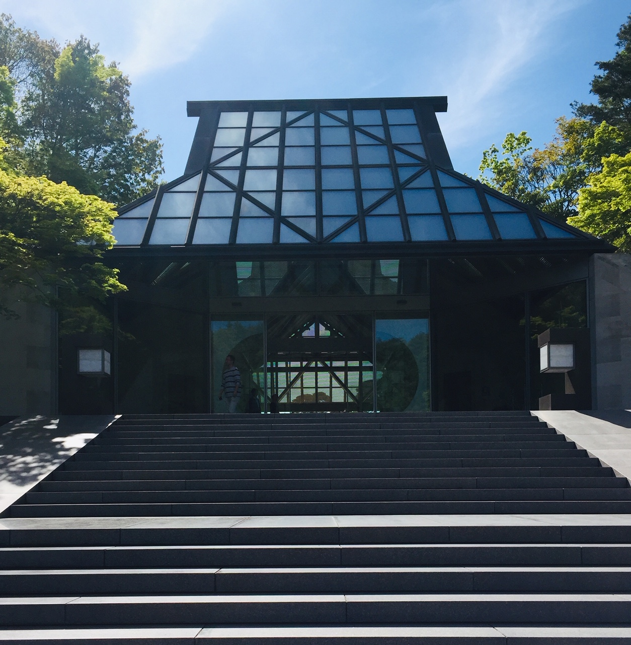 Entrance to Miho Museum