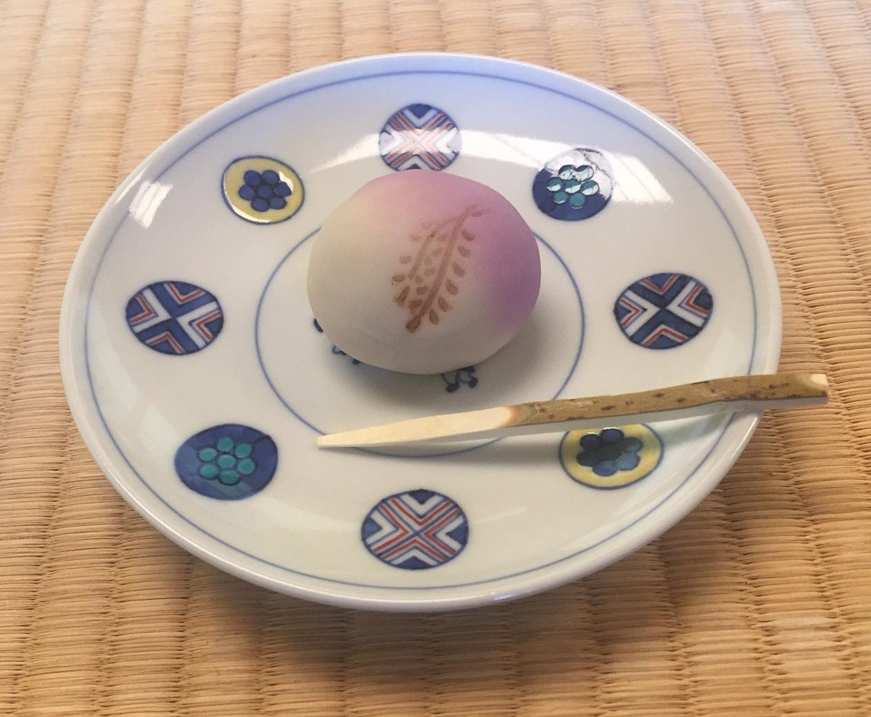 Tea ceremony sweet