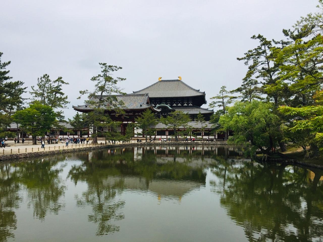 Todai-ji Temple in Nara