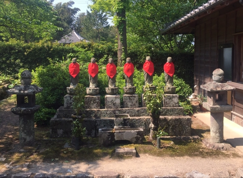 Buddhist statues at Toko-ji