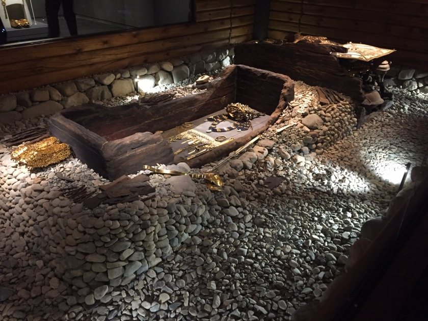 Royal burial site