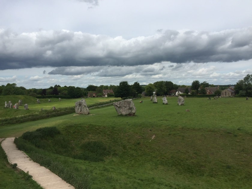 Circle of stones at Avebury