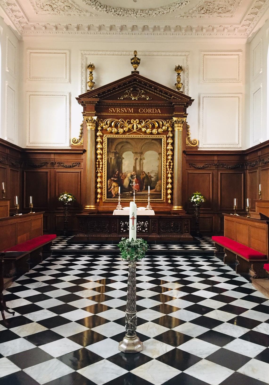 Wren Chapel at Emmanuel