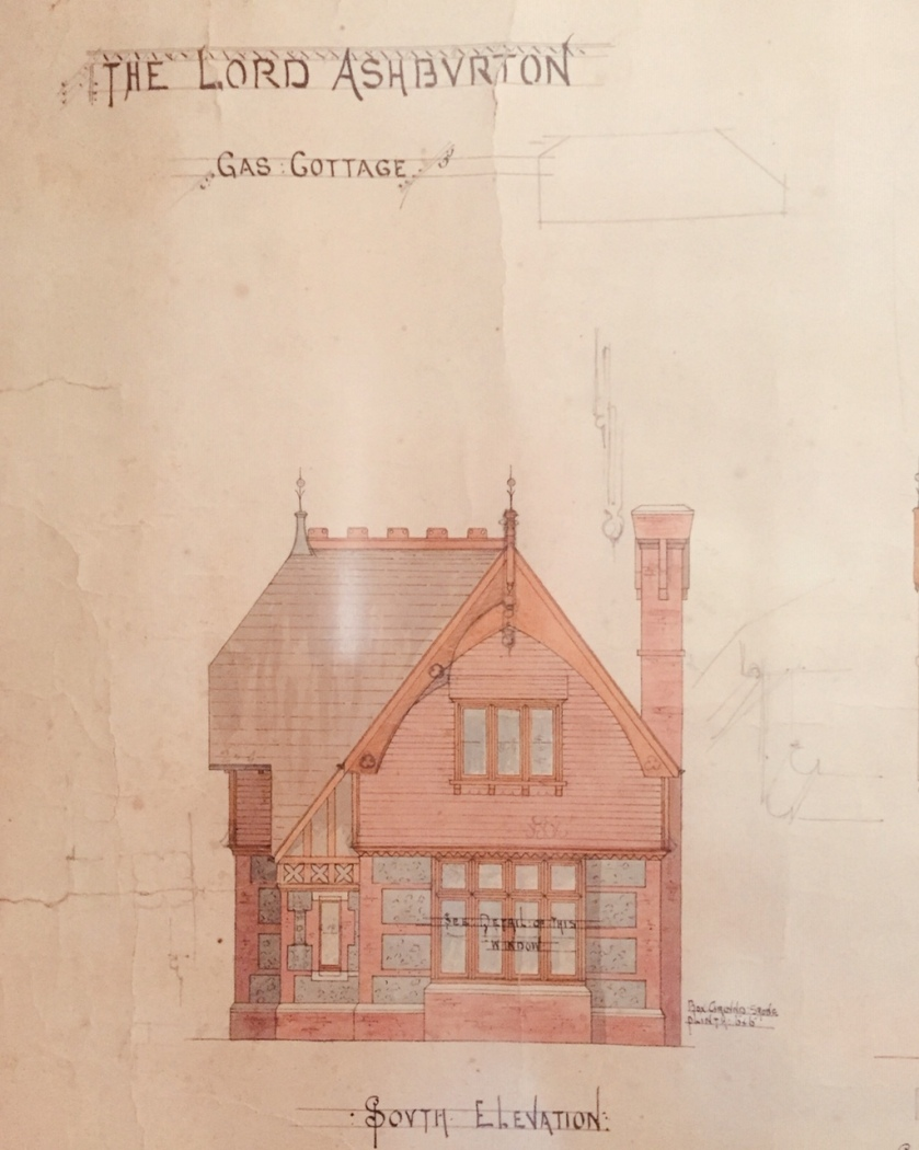 Gas Cottage drawing