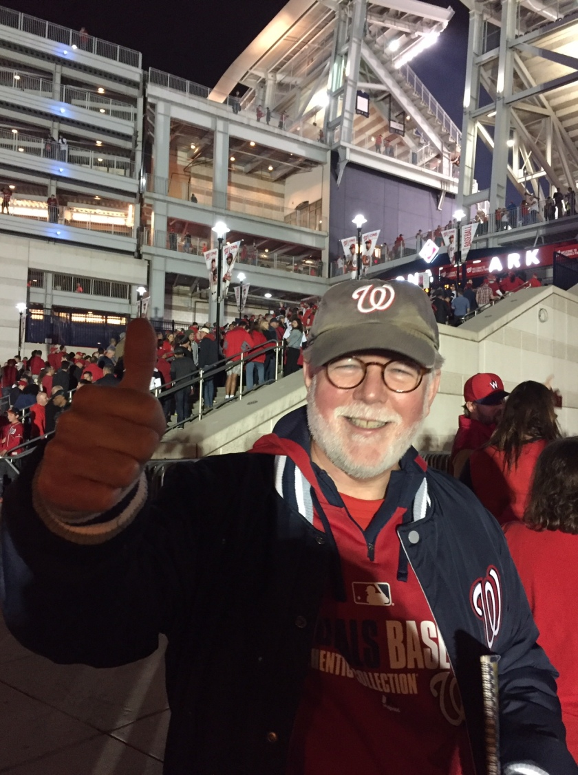 Entering Nats Park for the World Series