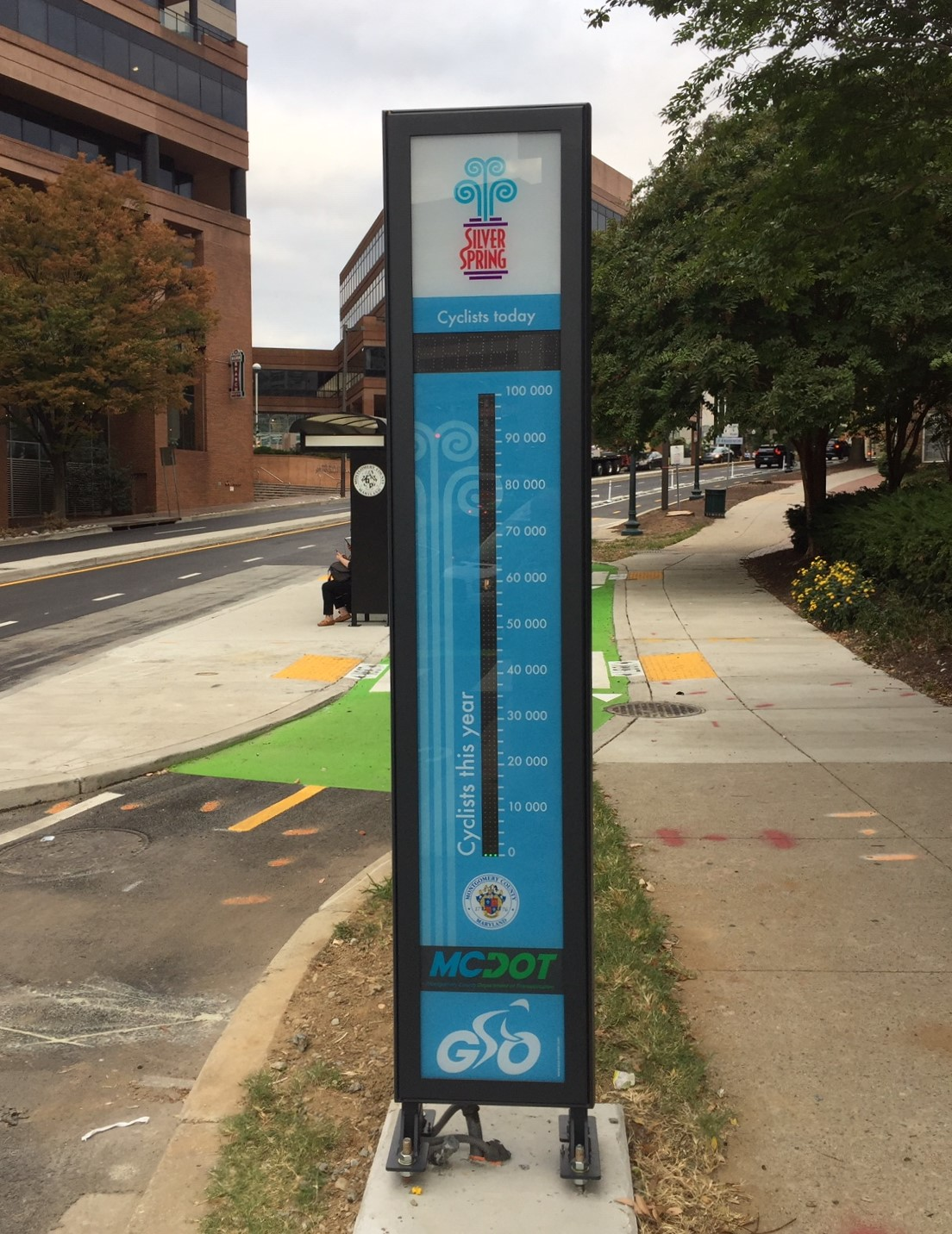 Silver Spring Bike Counter