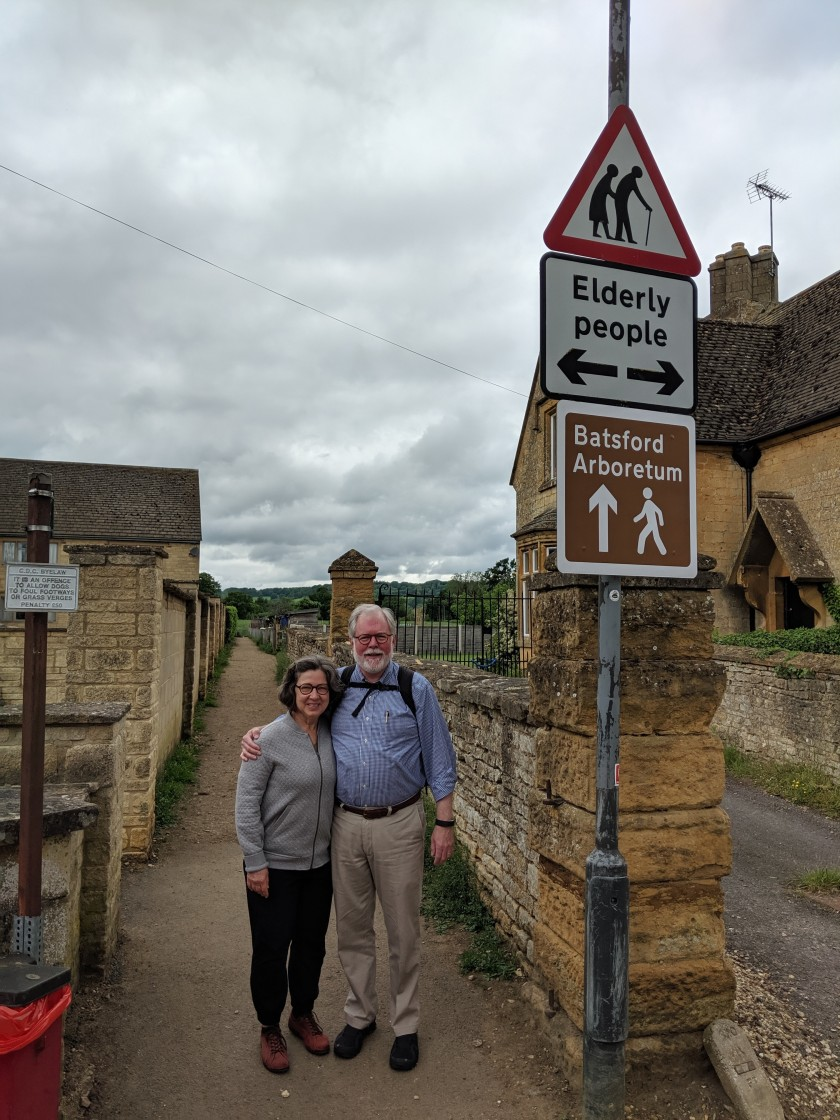 DJB and CCB in Cotswolds