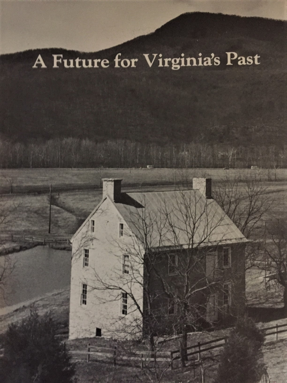 A Future for Virginia's Past