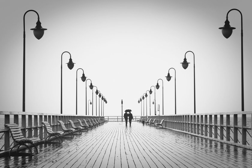 Couple on Jetty Image by Arek Socha from Pixabay