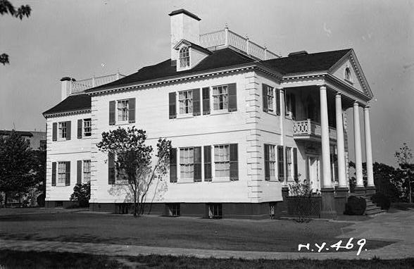 Morris-Jumel Mansion photo credit Library of Congress